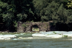 Cotton Factory ruins in August 1979