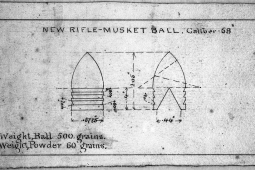 New rifle-musket ball