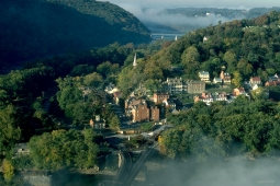 Lower Town from Maryland Heights in October 1994