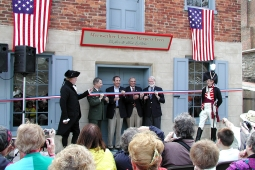 Dedication of Meriwether Lewis exhibit